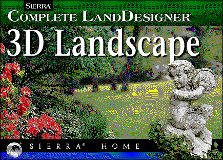 Title screen from Sierra LandDesigner 3D