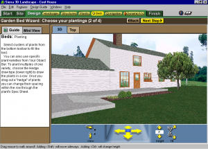 Screenshot from Sierra LandDesigner 3D