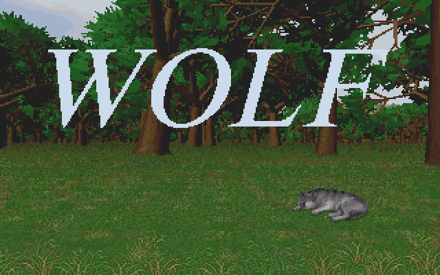 Credits screen from Wolf