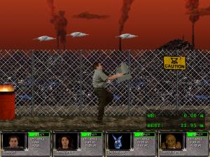 Screenshot from Gooch Grundy's X-Decathlon