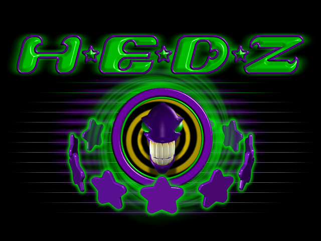 Loading screen from H.E.D.Z.: Head Extreme Destruction Zone