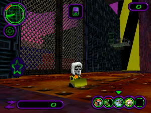 Screenshot from H.E.D.Z.: Head Extreme Destruction Zone