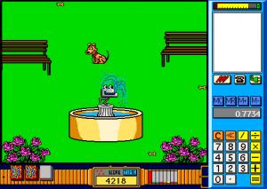 Screenshot from Troggle Trouble Math