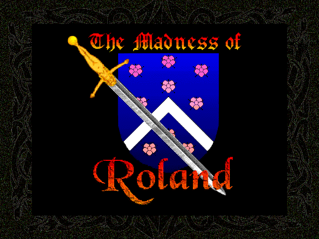 Title screen from The Madness of Roland