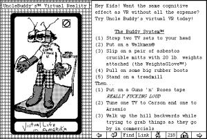 Screenshot from Uncle Buddy's Phantom Funhouse