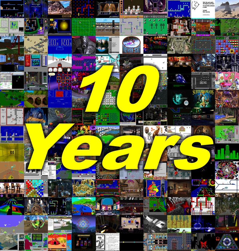 Ten years of The Obscuritory