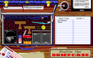 Screenshot from Stuffin the Briefcase