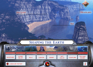 Screenshot from Eyewitness Virtual Reality Earth Quest