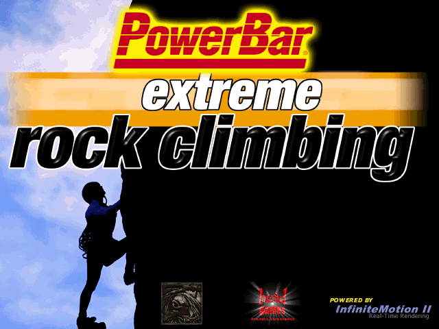 Title screen from Extreme Rock Climbing