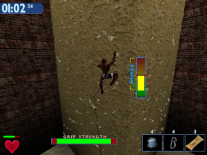 Screenshot from Extreme Rock Climbing