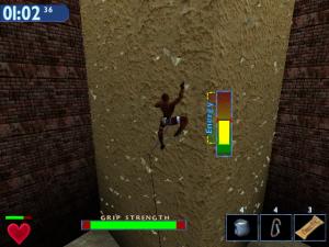 Screenshot from Extreme Rock Climbing