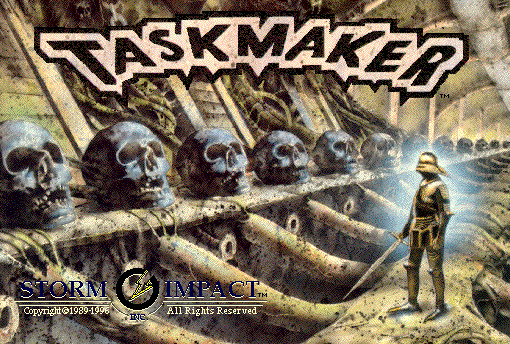 Title screen from TaskMaker
