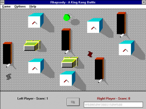 Screenshot from Rhapsody! A King Kong Battle