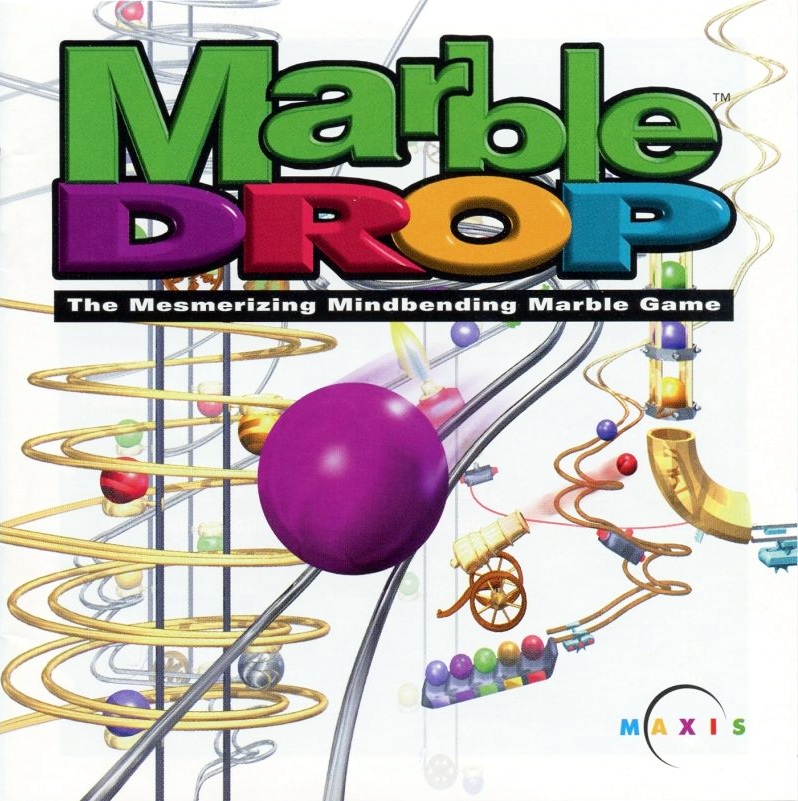 Box art for Marble Drop, courtesy of MobyGames.