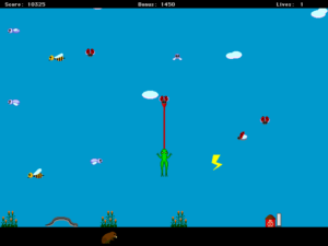 Screenshot from Koji the Frog
