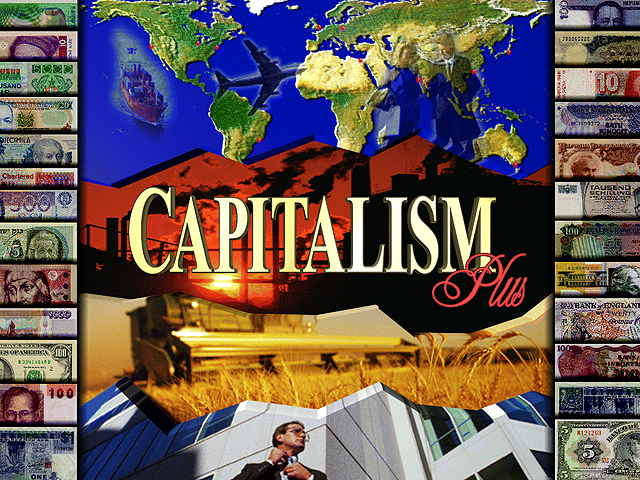 Title screen from Capitalism Plus