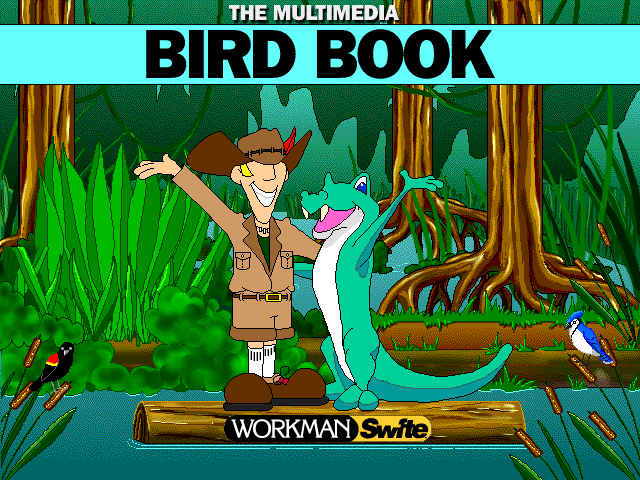 Title screen from The Multimedia Bird Book