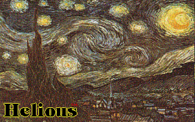 Title screen from Helious