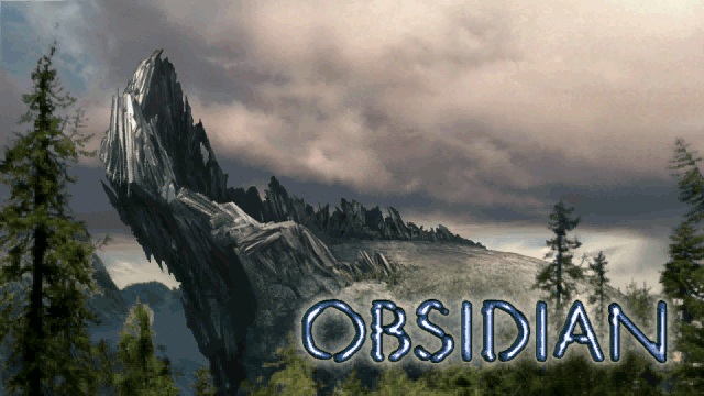 Opening screen from Obsidian