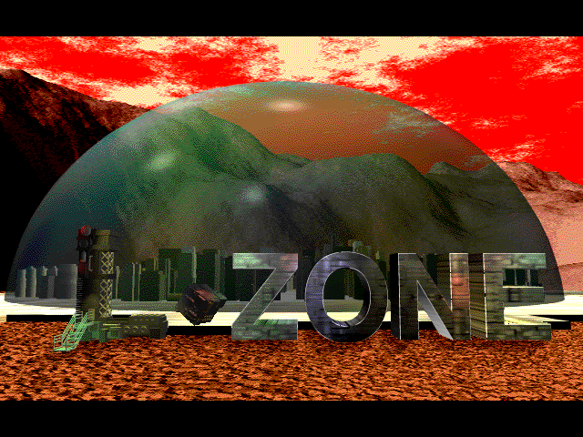 Title screen from L-ZONE
