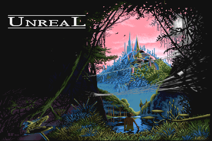 Title screen from Unreal