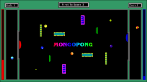 Screenshot from MongoPong