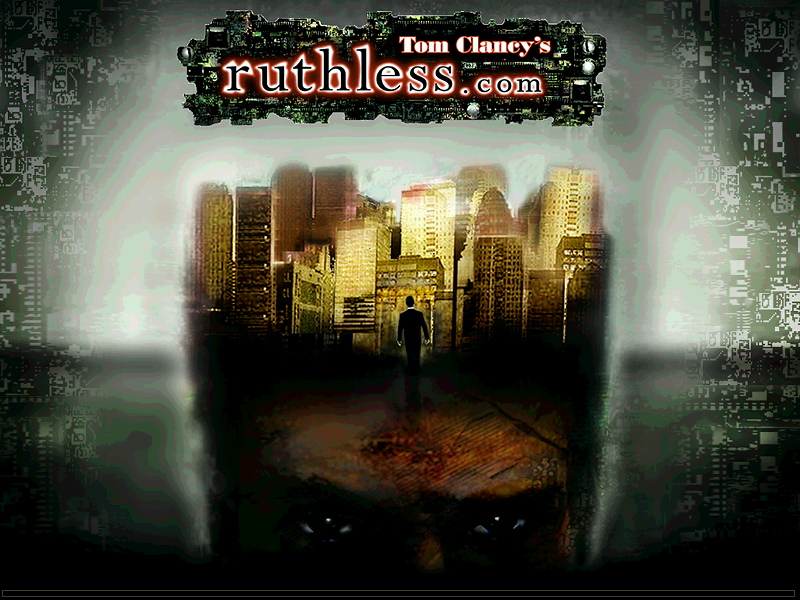 Title screen from Tom Clancy's ruthless.com