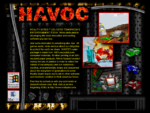"""An informational screen from Havoc. """"Reality Bytes delivers tomorrow's entertainment today. We're dedicated to developing the most innovative and exciting software you can buy. And we're dedicated to something else, too. All games aside, we're serious about our obligation to protect the earth we share. Havoc's outer package is made from 100% recycled post-consumer materials. All other printing is on 50% recycled paper products. We've focused on minimizing the use of plastics in order to reflect the values of our company and our customers - creative, environmentally aware and concerned about the enjoyment of generations to come. Reality Bytes hopes you'll call on other software and hardware vendors to think about our future."""""""
